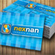 Nexnan Corporate Business Card - GraphicRiver Item for Sale