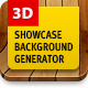 3D Showcase Background Generator - GraphicRiver Item for Sale