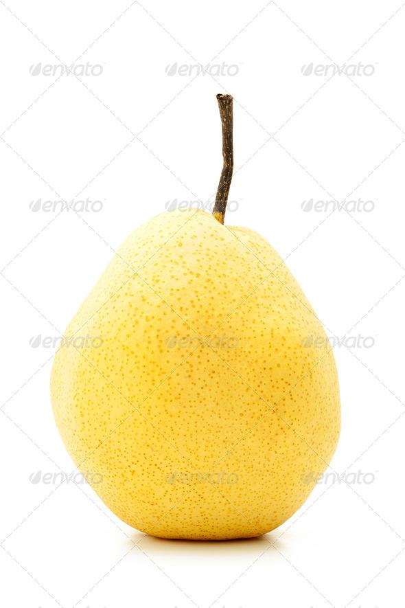 PhotoDune Perfect yellow pear 4124619