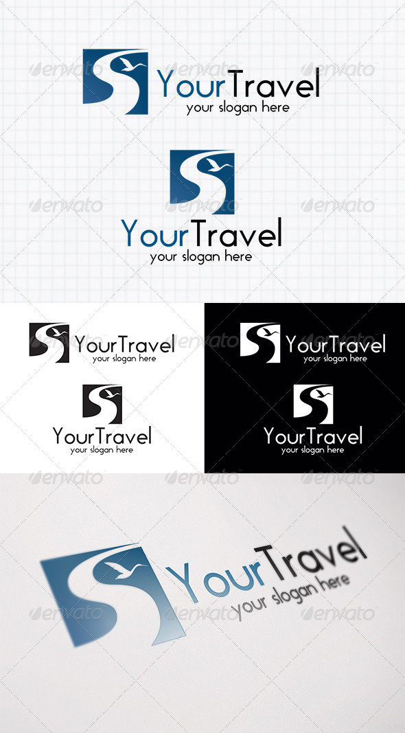 GraphicRiver Travel Logo Template 4043737