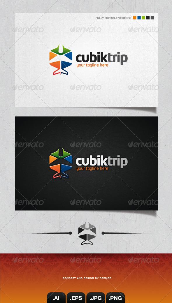 GraphicRiver Cubik Trip Logo 4058266