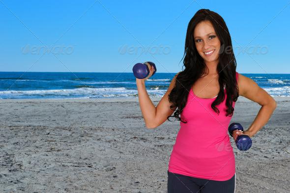 PhotoDune Woman Doing Workout 4133046