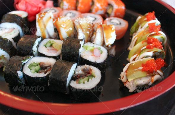 PhotoDune Japanese rolls 4133268