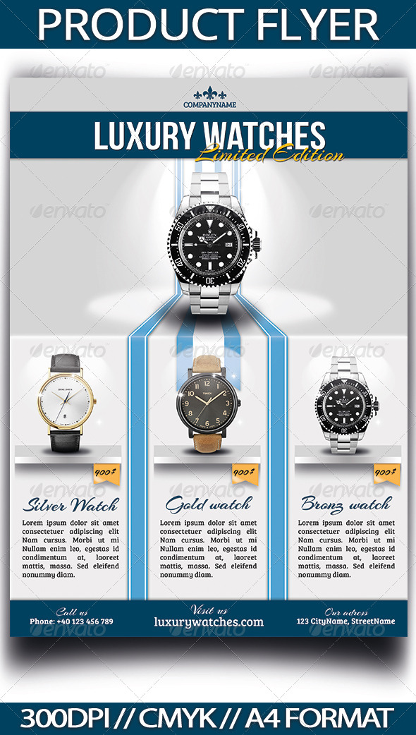 GraphicRiver Product Flyer 3919250