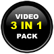 3 in 1 Video Players - Youtube/Vimeo/Flv/mp3/ads - ActiveDen Item for Sale