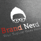 Brand Nerd Logo Template - GraphicRiver Item for Sale