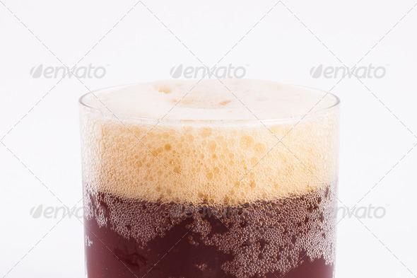 PhotoDune Glass of beer top view 4152509