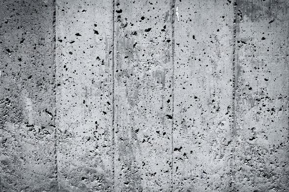 PhotoDune Black and white concrete wall 4152526
