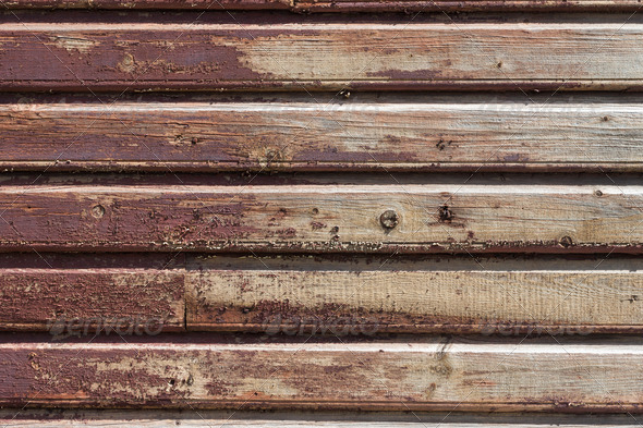 PhotoDune Old weathered painted wood wall background 4152529