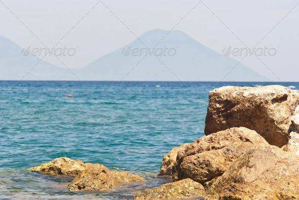 PhotoDune Brolo beach Messina Sicily 4141343