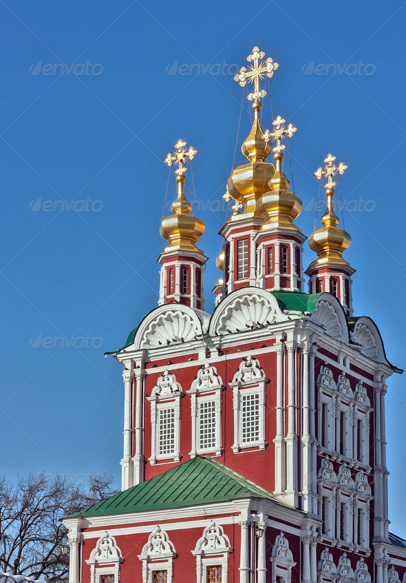 PhotoDune Novodevichy Convent Moscow Russia 4141390