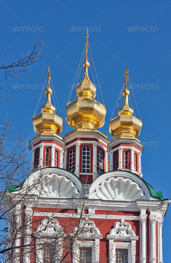 PhotoDune Novodevichy Convent Moscow Russia 4141393
