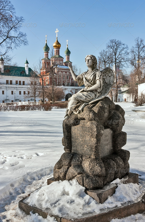 PhotoDune Novodevichy Convent Moscow Russia 4141397