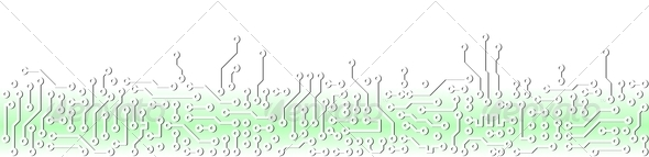 PhotoDune Abstract light green circuit board electronic template 4141385