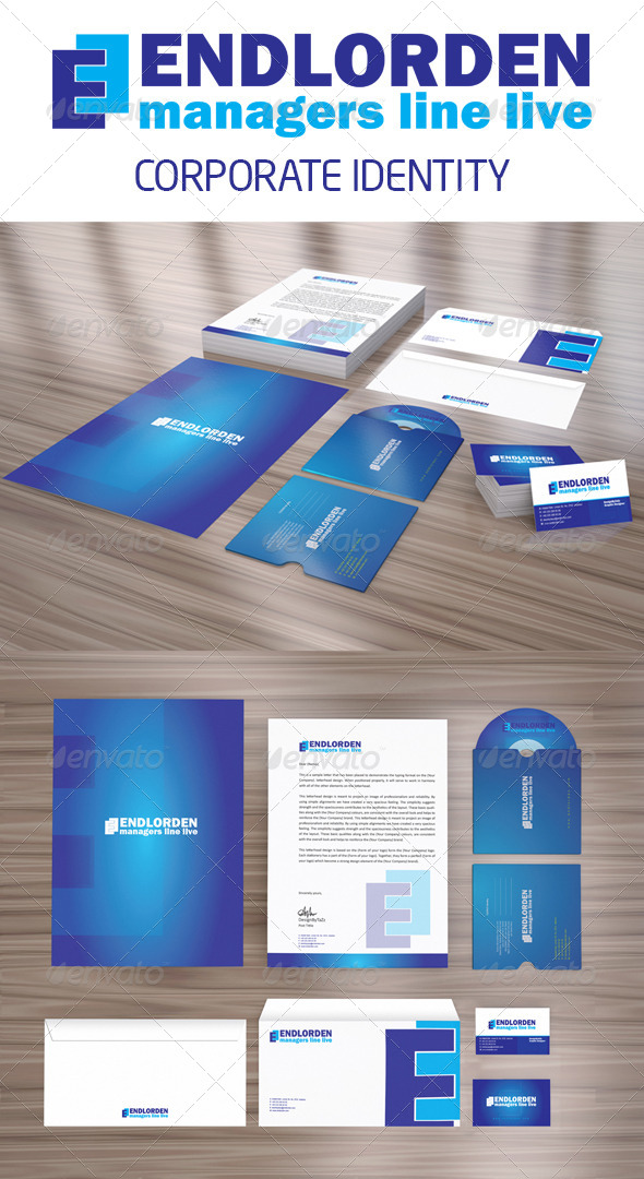 GraphicRiver Endlorden Corporate Identity Package 4023535
