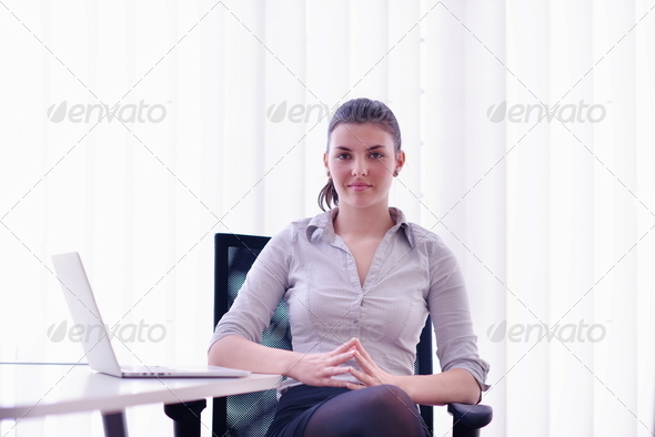 PhotoDune business woman at office 4151127