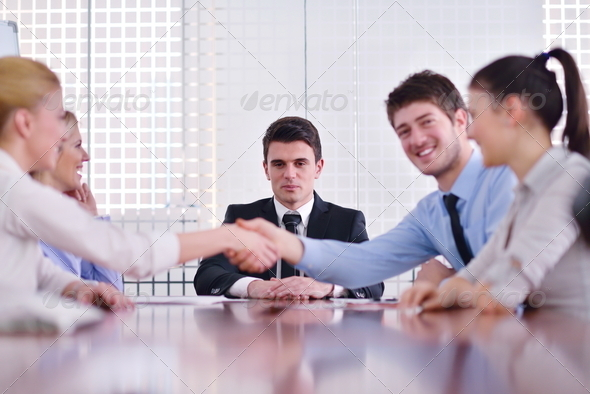 PhotoDune business people in a meeting at office 4151207