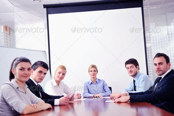 PhotoDune business people in a meeting at office 4151263