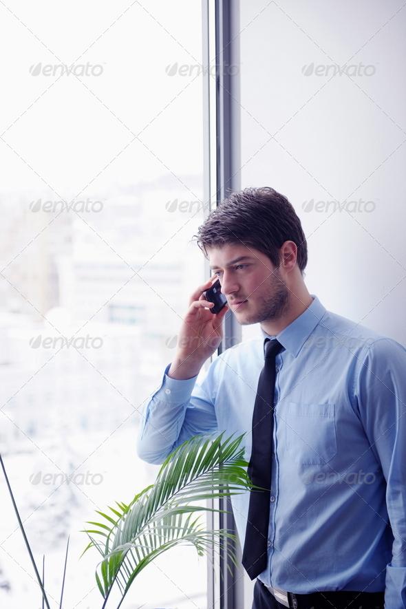 PhotoDune business woman talk by phone 4151271