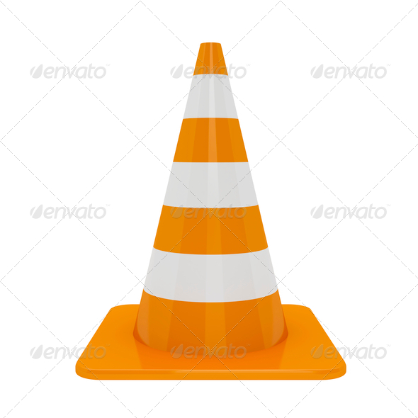 PhotoDune Traffic cone 4150279