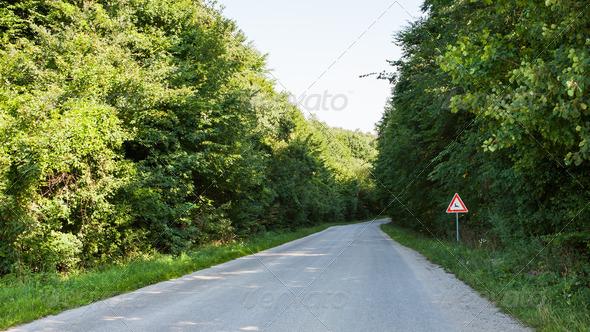 PhotoDune Deer traffic sign 4150263