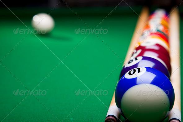 PhotoDune Billiard game 4166138