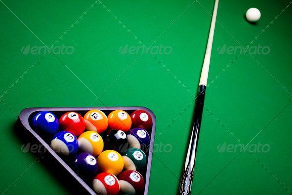 PhotoDune Pool balls 4166145