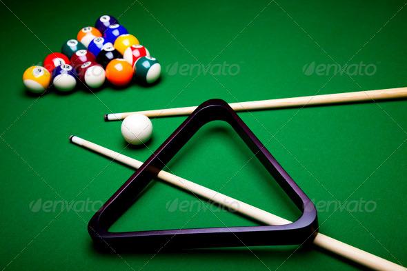 PhotoDune Billiard balls pool 4166146
