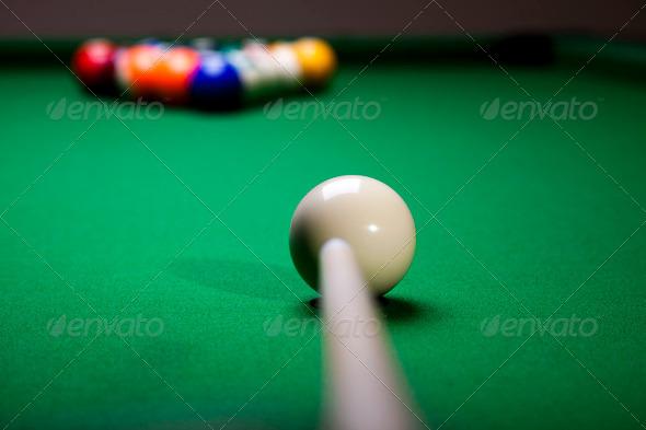 PhotoDune Billiard balls pool 4166132