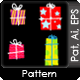 Seamless Gift Patterns - GraphicRiver Item for Sale