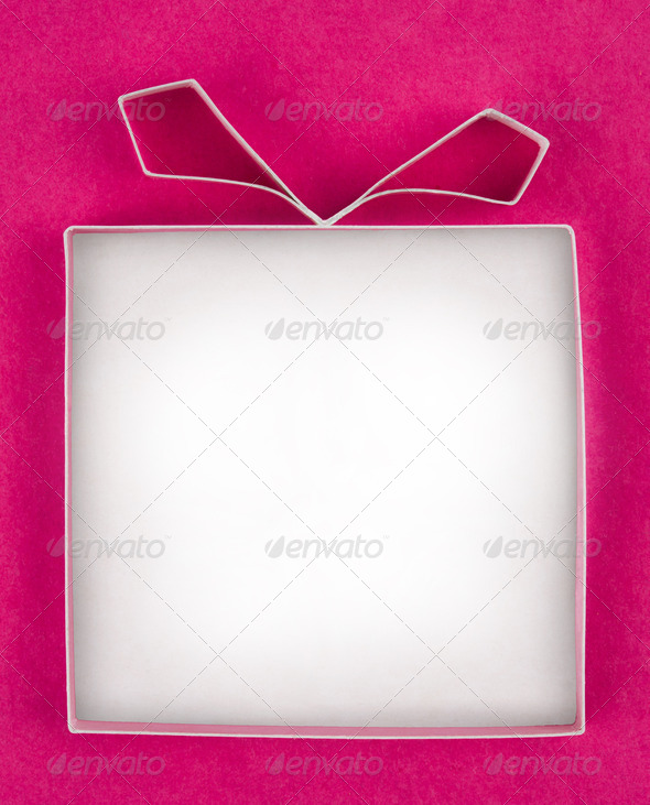 PhotoDune Hand made empty gift box textured paper as background Free spa 4154166