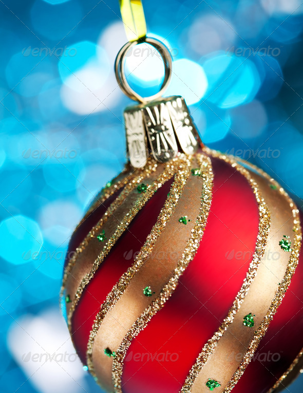 PhotoDune Christmas and new year decoration Greeting card 4154178