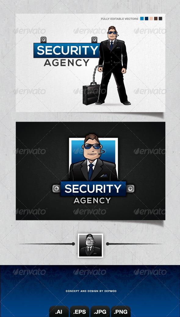 GraphicRiver Security Agency Logo 4077217