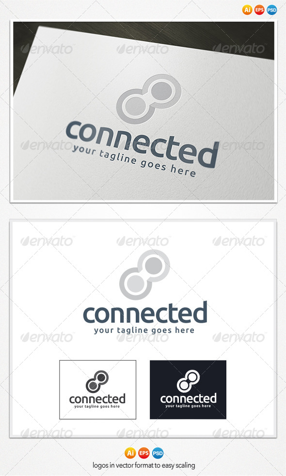 GraphicRiver Connected Logo 4078963