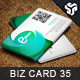 Business Card Design 35 - GraphicRiver Item for Sale