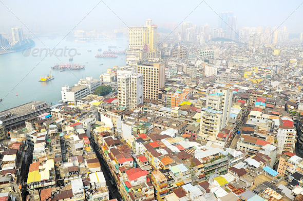 PhotoDune Skyline of Macau 4175490