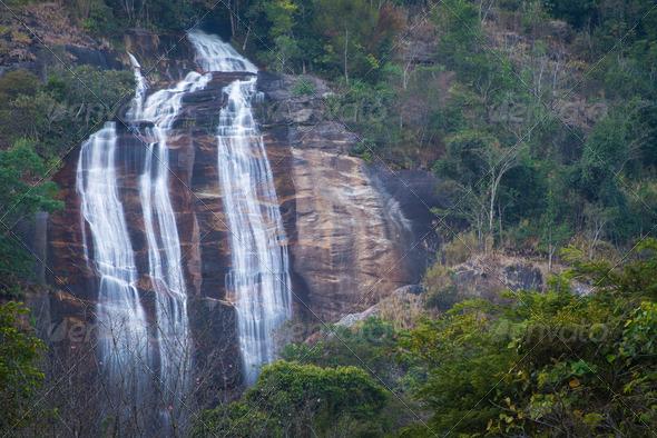 PhotoDune Waterfall in the mountain 4175627