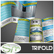 Modern Business Trifold Geometric Template - GraphicRiver Item for Sale