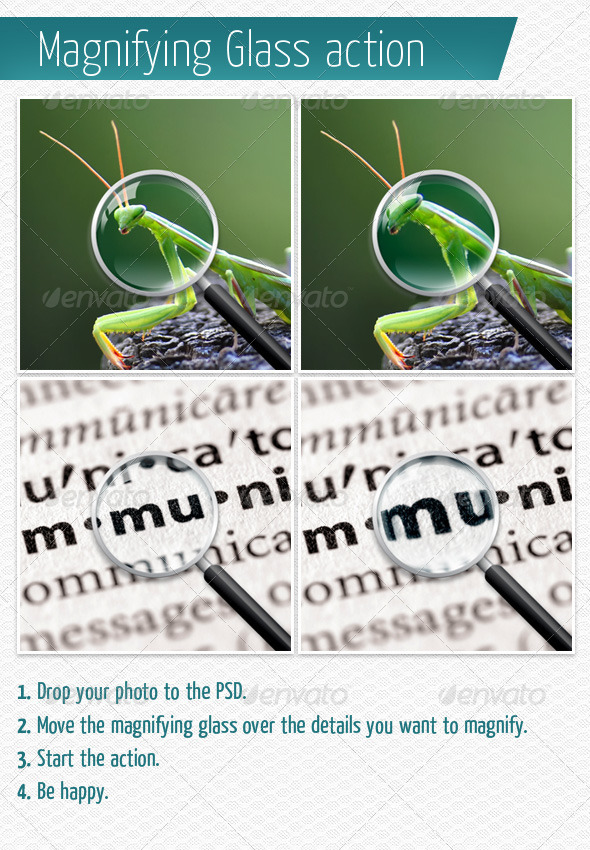 GraphicRiver Magnifying Glass Action 4180442