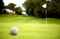 golf ball near the putting green - PhotoDune Item for Sale