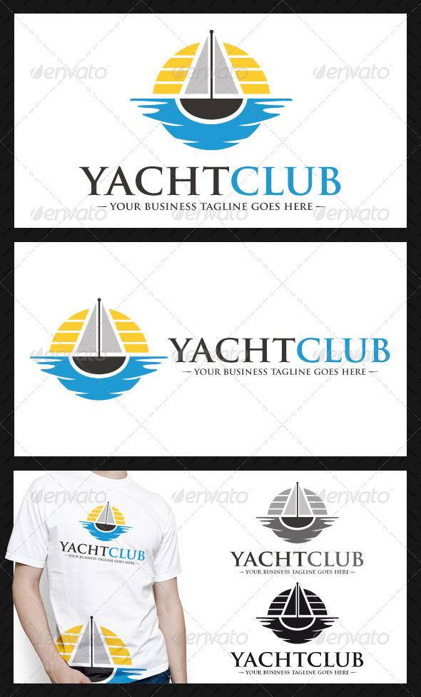 GraphicRiver Yatch Club Logo Template 4101252
