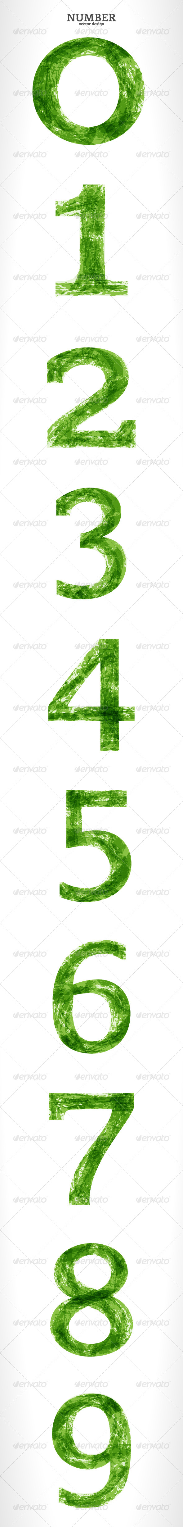 GraphicRiver Grunge Vector Number 4079058
