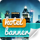 Hotel Web Banners - GraphicRiver Item for Sale