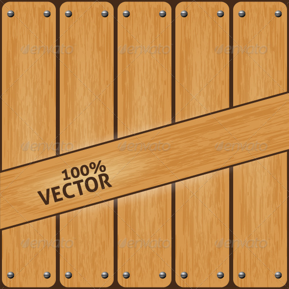 GraphicRiver Vintage Wood Background 4078954