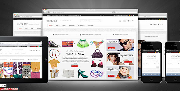 456shop-ecommerce-wordpress-theme