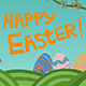 Happy Easter Banner - GraphicRiver Item for Sale