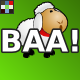 Cute Cartoon Sheep Baa