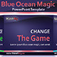 Blue Ocean Magic PowerPoint Template - GraphicRiver Item for Sale