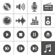 Music and Sound Icons - GraphicRiver Item for Sale