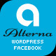 Alterna - Facebook Fan Page with WordPress Theme - ThemeForest Item for Sale